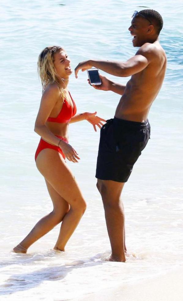 Mélanie & Anyhony Martial à l'île Maurice