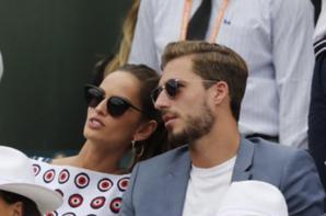 Isabel & Kevin Trapp à Roland Garros