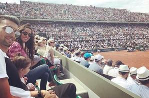 Chiara & Javier Pastore à Roland Garros