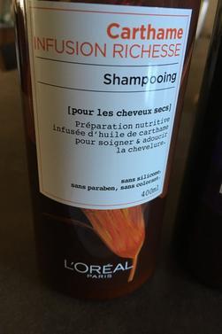 Shampoing aux plantes de Loréal on les fume pas................
