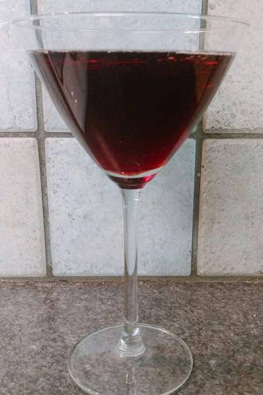 Cocktail : mêlé-cassis.