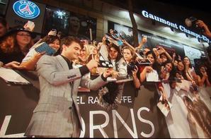 """Rencontre avec l'acteur DANIEL RADCLIFFE (alias Harry Potter) à l'AVANT PREMIERE """"HORNS"""" à PARIS le Mardi 16 septembre 2014"""