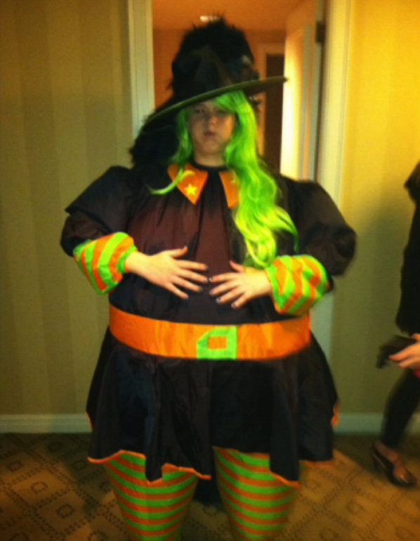 Jennifer à Halloween 2012