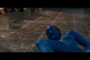 Jenn tournage X-Men
