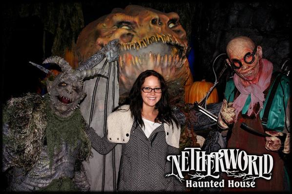 Jennifer au NETHERWORLD HAUNTED HOUSE le 29octobre