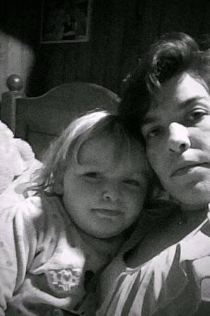 mwa et ma fille jtm mon ange