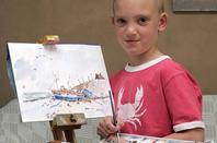 KIERON WILLIAMSON, petit peintre anglais de génie
