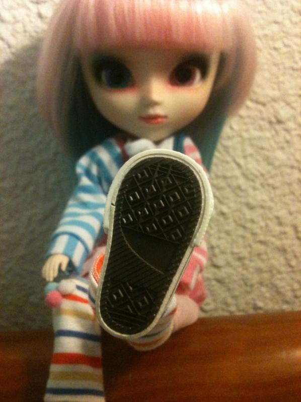 Meroko a de nouvelles chaussures 8D