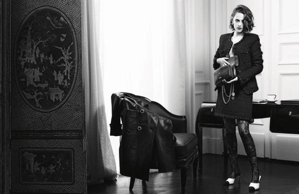 Chanel: Veterans shots of Kristen for the advertising campaign 'Métiers d'Art Paris In Rome' HQ