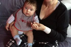 Mamie en weekend avec sa petite fille