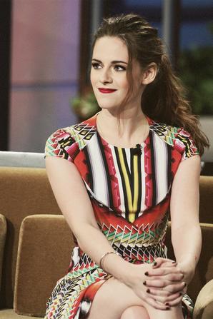 . 05.11.12 Kristen était a l'émission Jay Leno Show .