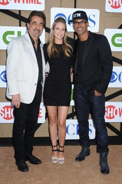 Esprits Criminels : Matthew Gray Gubler, A.J Cook, Shemar Moore & Jeanne Tripplehorn  au CW, CBS and Showtime 2013 Summer TCA Party - Monday 29th July 2013