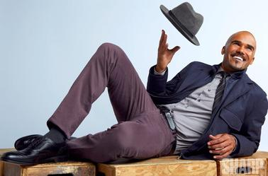 Photoshoot de Shemar Moore pour SHARP