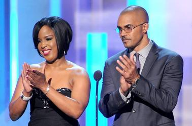 Shemar Moore : TV One At The 45th NAACP Ilmages  Awards