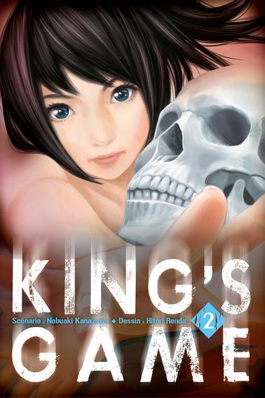 """Manga à lire.  """"King's game"""""""