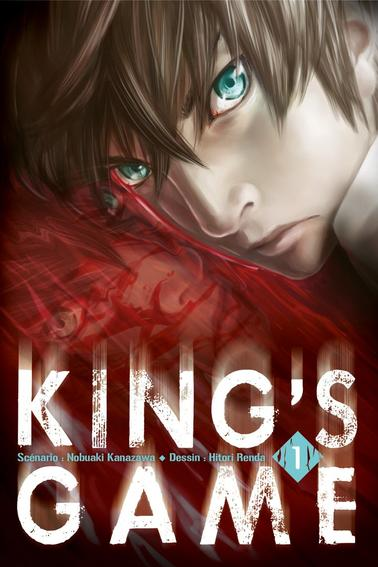 "Manga à lire.  ""King's game"""
