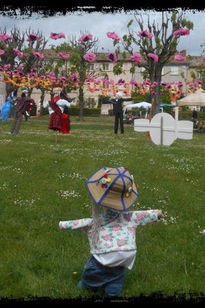 marché aux fleurs Salles Arbuissonnas