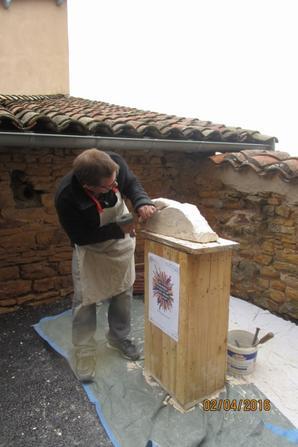 Les  journées Européennes des métiers d'art à Oingt (69)