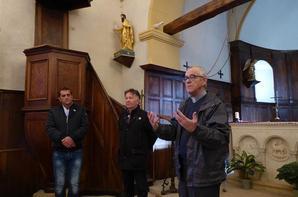 Deux nouvelles statues pour l'église de Chambost
