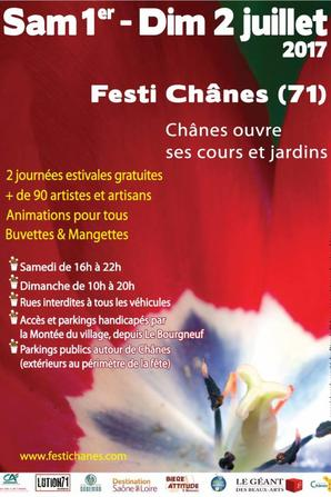 Expo à Festi Chânes et au Château des Ardillats