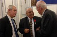 Légion d'honneur au pasteur Georges Meyer, président de Vie et Lumière