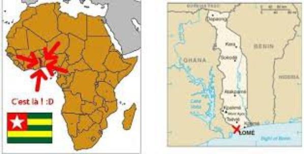 Le Togo, de l'autre coté de la rivière !
