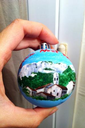 Boule de Noël 2015