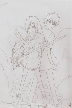 Dessin: Remake Kira & Ren