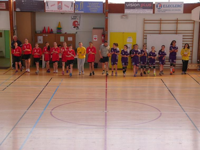 Match des -16ans F face à Autun