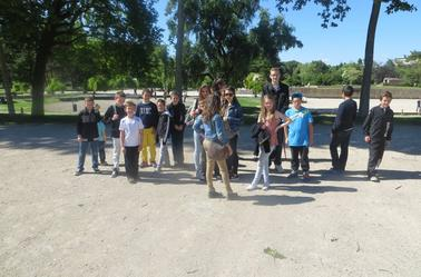 Sortie à Chalon pour les jeunes du HBCD