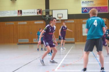 Moins 16 ans Garçons HBCDigoin / Allemagne.