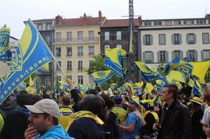 Finale Champions Cup Clermont-Toulon place Jaude (Clermont-Ferrand)