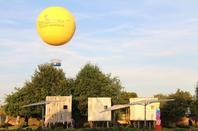 Inauguration du ballon captif de Terra Botanica - Angers