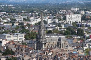 Nantes vue de la Tour de Bretagne
