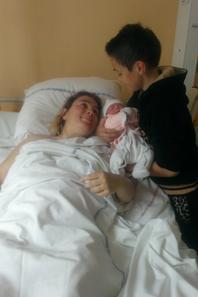 Naissance de ma filleule 06/2014