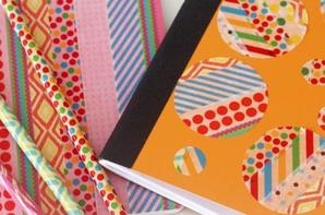 DIY : customiser ses cahiers, stylos, classeurs ... pour la rentrée !