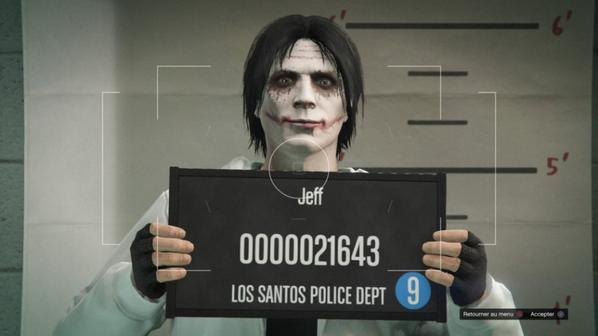 Jeff the killer ahah XD