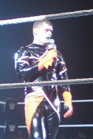 TOFS DU SHOW WWE A TOULOUSE 16/04/2015