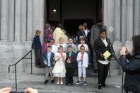 premiere communion de Lena  le 4 mai 2014