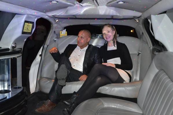 je parts en tourné avec ma limousine