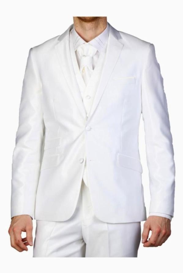 La mariée est en noir, le soumis en blanc