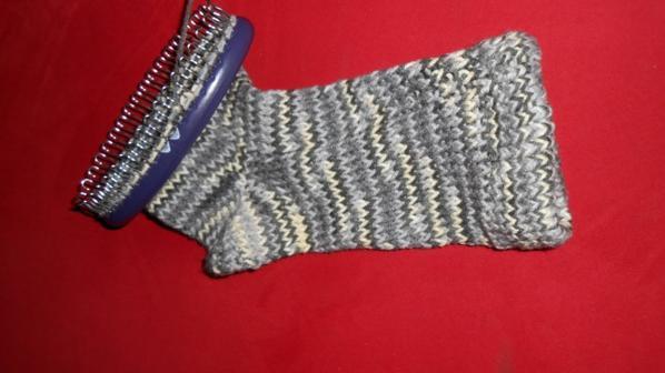 travaux tricot en cours