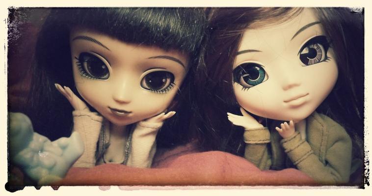 Mes deux Pullip :)