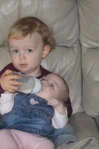 Léonie et son frère