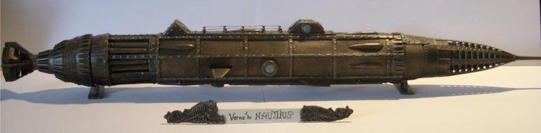 Le nautilus, Jules Vernes