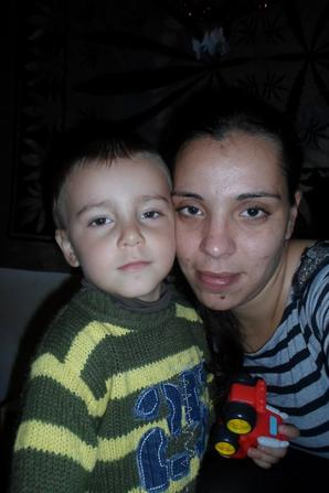 agathe lyna et teo +maman