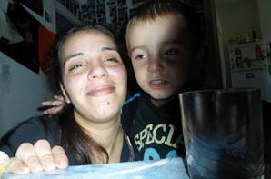 mon fils moi et lyna