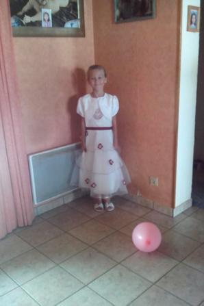 baptême de ma fille (8ans)