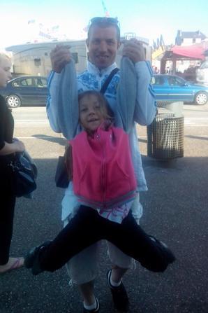 ma fille et mon cheri