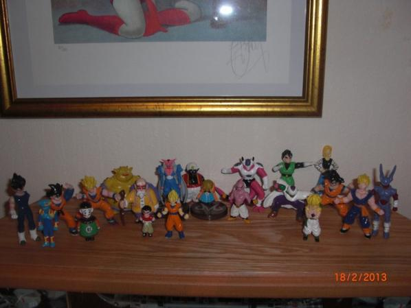 Dragon Ball et DBZ petite figurine